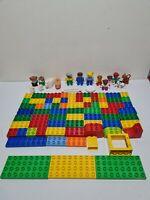 Duplo LEGO Joblot Bundle Animals Figures Boards Bricks 100 Pieces
