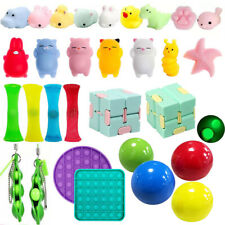 Set Fidget Sensory Toys Mini Animal Squishies Toy Mochi SQUISHY Sticky Balls DE