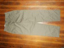 Dockers Flat Front Tapered Leg Khakis Pants Women's Size 10 M NEW NWT Olive