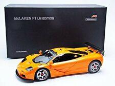 NEW AUTOart 76011 McLaren F1 LM Orange Diecast Car 1/18 from JAPAN