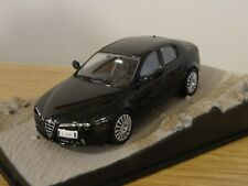 ALTAYA JAMES BOND 007 ALFA ROMEO 159 BLACK CAR MODEL DY063 1:43