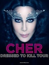 """Cher Dressed to Kill 16"""" x 12"""" Photo Repro Concert Poster"""