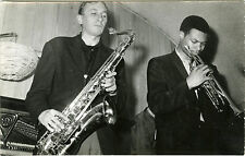 """Freddie MEIER et Woody SHAW au CHAT QUI PÊCHE"" Photo originale vers 1960"