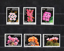MONACO  plantes du jardin exotique de  1982   num: 1306/11   **