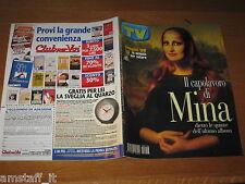 TV SORRISI E CANZONI=1999/16=MINA=ENZO DECARO=JENNY MCCARTHY=ORNELLA MUTI=