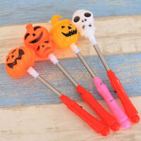 Funny Halloween Pumpkin Skull Design Toys Glow Stick Light-Up Toy Children Gifts