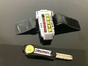 Power Ranger Turbo Morpher  complete with metal key full works very rare toy