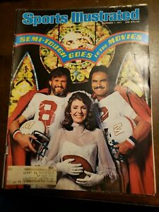 Sports Illustrated - Semi-Tough BURT REYNOLDS - November 7, 1977 -(M19A)
