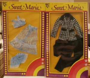 Vintage Sweet Maria Doll Clothes outfits (2) - FOR 11 1/2 INCH DOLLS Barbie