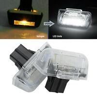 2pcs LED NUMBER PLATE LIGHT WITH BULBS FORFORD TRANSIT, CONNECT, COSTUM, 1732840