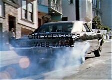1968 DODGE CHARGER BURNOUT 5X7 PHOTO BULLITT STEVE McQUEEN STREET CHASE RACING