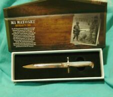 Mini M1 Bayonet Desk Knife Pearl Handle Combat Ready Limited Edition of 500