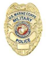 Marine Corps MP Badge Pin - 14318 (1 inch) Licensed by HMC Honors