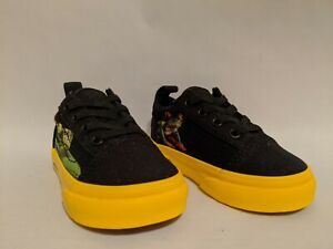 Vans New Old Skool Elastic Lace National Geographic Vault Toddler Size USA 5