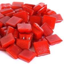 203 Vitreous Mosaic Tiles 10mm - Deep Red