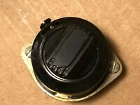 Vintage 1952 Amphenol 8-position Black Switch for Tube Amplifier or Receiver
