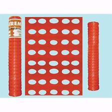 Rete per recinzioni cantieri XTREM - Altezza cm. 120 - Peso 160 gr/mq.