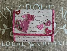 Fossil Vintage Valentine Trifold Wallet NWT