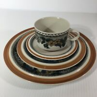 Goebel Country Burgund Place Setting Bavaria W. Germany Oeslauer Ovenproof China
