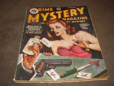 Dime Mystery Magazine Feb 1946 Original Pulp Magazine