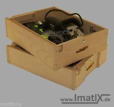 ImatiX LBX31 - Stapeleinsatz Holzeinsatz 2-teilig für Bosch/Sortimo L-Boxx 238