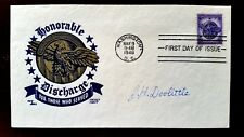 JIMMY DOOLITTLE SIGNED FIRST DAY OF ISSUE COVER ENVELOPE RARE