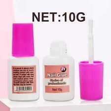 10G Nail Glue With Brush 💖 EXTRA STRONG 💖 Professional False Tip Quick 💖