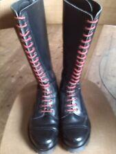Shellys Skinhead Punk Rangers 20 hole size 7 skinhead boots Shellys London RARE