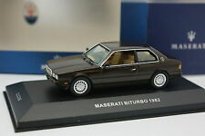 Ixo 1/43 - Maserati Biturbo 1982 Marron
