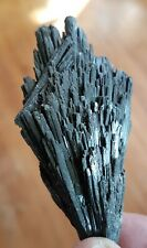 100g Natural Black Kyanite Fan. Quartz Crystal Mica Healing Mineral Specimen Gem