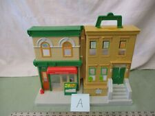 Mattel Sesame Street Hoopers Store 123 Apartment Building Toy Pretend Play A