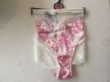 M & S Rosie Autograph Silk & Lace Panties/knickers size 22 BNWT RRP £12.50