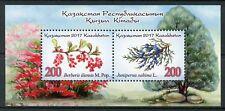 Kazakhstan 2017 MNH Berries Juniper 2v M/S Flowers Plants Trees Nature Stamps