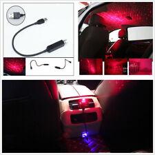5V Car Roof Star Night Lights LED Projector Light USB Plug+Apple Phone Connector