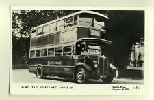 pp1205 - M547, East Surrey AEC Route 409 - Pamlin postcard
