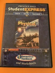 Prentice Hall California Physical Science CD-ROM 3 Disc-Set