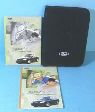 owner operator manuals  ford taurus  sale ebay