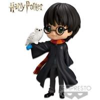 Harry Potter with Hedwig II Normal Color Version Q Posket Statue