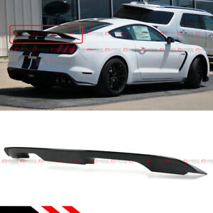 Glossy Black GT500 GT350 Style Trunk Spoiler Wing For S550 15-2021 Ford Mustang