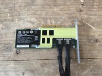 LSI MegaRAID SAS w/ Battery and Cables L3-01144-10A