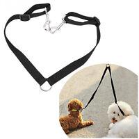 Two Dog Walking Strap Lead Wire Traction Rope Double Head Leash Jogging Splitter