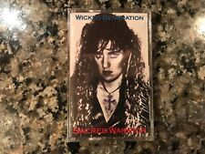 Sacred Warrior Wicked Generation New Sealed Cassette! See Deliverance