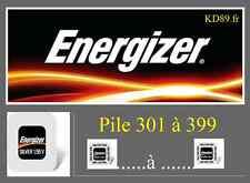 1 x  pile energizer 303 - 357  BATTERIE BATERIA   SR43SW