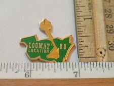 Skylift Mobile Crane Pin Badge Loomat Location  (#35)