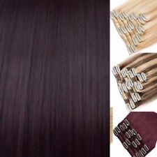 Dark Blonde Brown Ginger Hair Extensions Clip in Hair Extensions real Human Feel