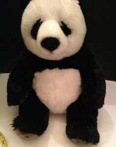 "FAO Panda Bear Plush 17"" 2012 Toys R Us Stuffed Animal toy"