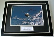 Helen Sharman SIGNED FRAMED Photo Autograph 16x12 display MIR Space Station  COA