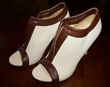 NEW Off-white Peep-toe High Heel Boots EUR 37 (Original Retail Price $132)