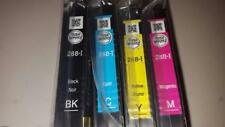 Epson OEM DuraBrite 288-I (288) Initial Ink Cartridges Full Set of 4 B/C/M/Y NEW