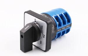 Milling Machine Part CNC Universal Conversion Switch 32A 3 knot Rotate Control
